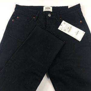 Zara Authentic Denim by TRF in Black Size US 6 NWT